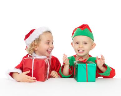 Little Santa and Elf