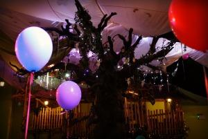 Woody tree